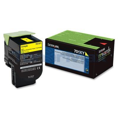 LEXMARK CS510 RP TONER CART YELLOW 4K